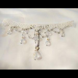 Lace Choker Victorian Style Choker Necklace